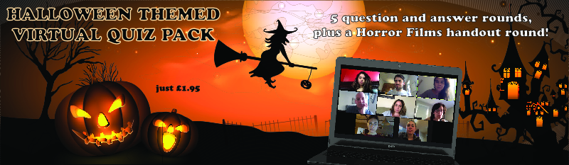 Virtual Halloween Quiz Pack