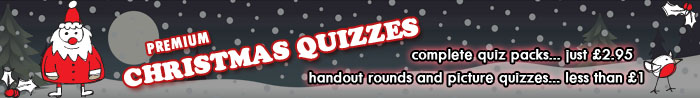 Christmas Quizzes at Bubble Tree Quizzes