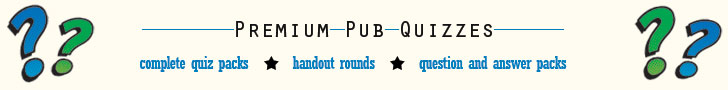 Premium Pub Quizzes at Bubble Tree Quizzes